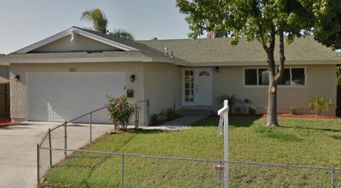 Santee California Hard Money Fix and Flip Loan