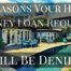 3 Reasons Hard Money Loan Request Will Be Denied